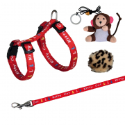 Trixie Kitten Harness with Leash and 2 Toys 21-33х0.8 cm