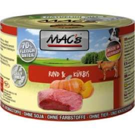 MAC's Dog - Beef & Pumpkin, Canned 400 g, 800 g, 200 g