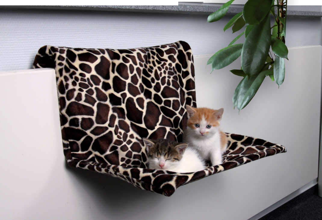Trixie Radiator Bed, Giraffe Dark brown 48х26x30 cm buy online