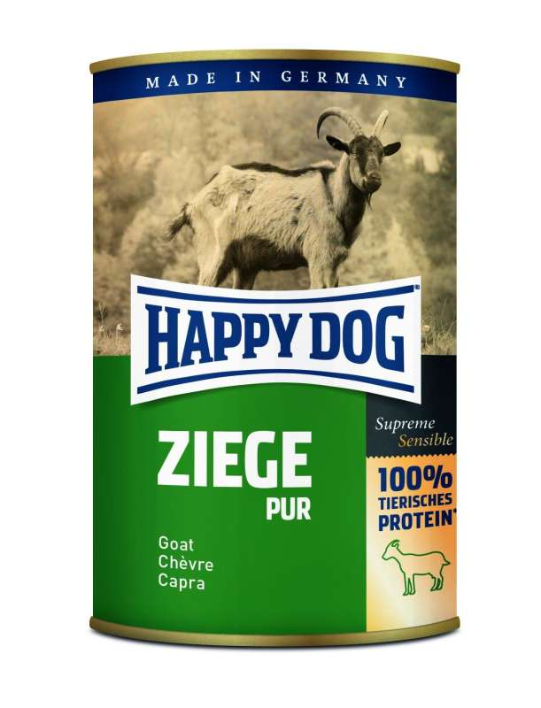 Supreme Sensible Goat pure from Happy Dog 200 g, 400 g, 800 g buy online