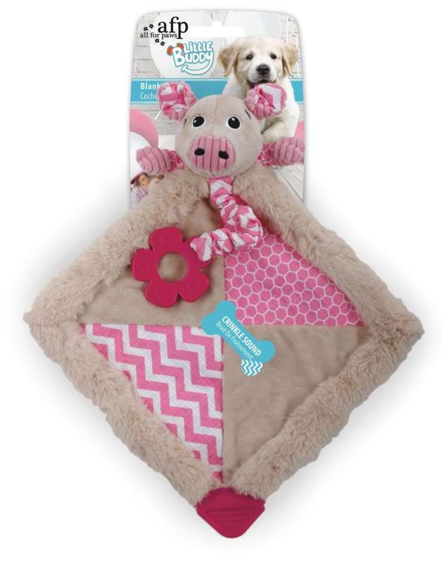 All for Paws Little Buddy Blanky Piggy