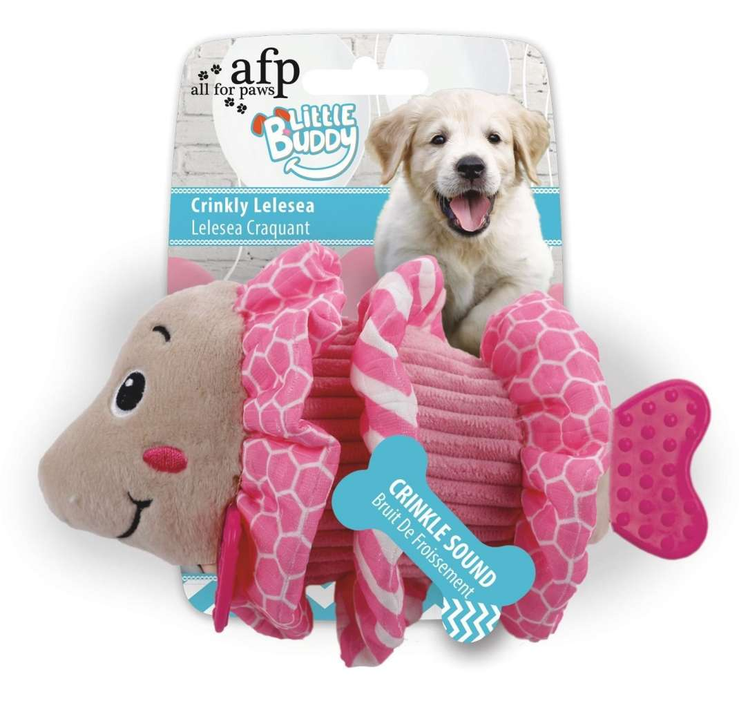 All for Paws Little Buddy Crinkly Lelesea  test