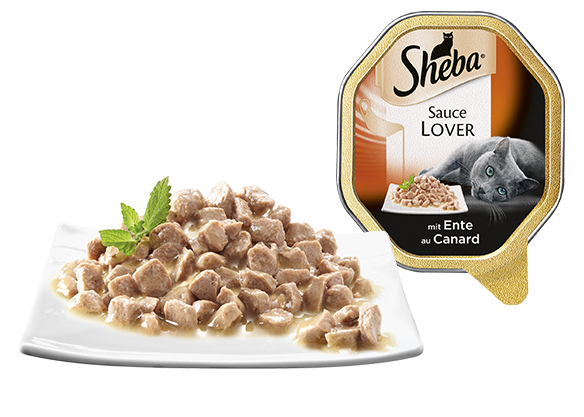 Sheba Sauce Lover med And 85 g test