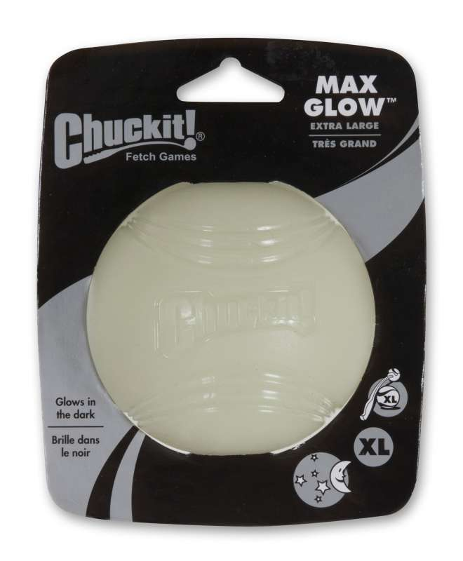 Chuckit! Max Glow Ball XL Blanco