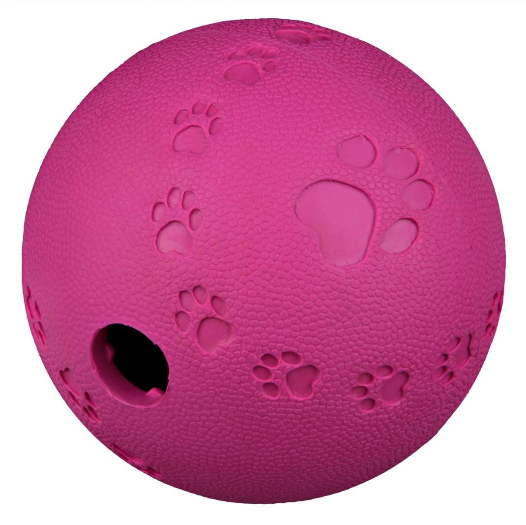 Trixie Dog Activity Snackball, Natuurlijk rubber  4011905349435