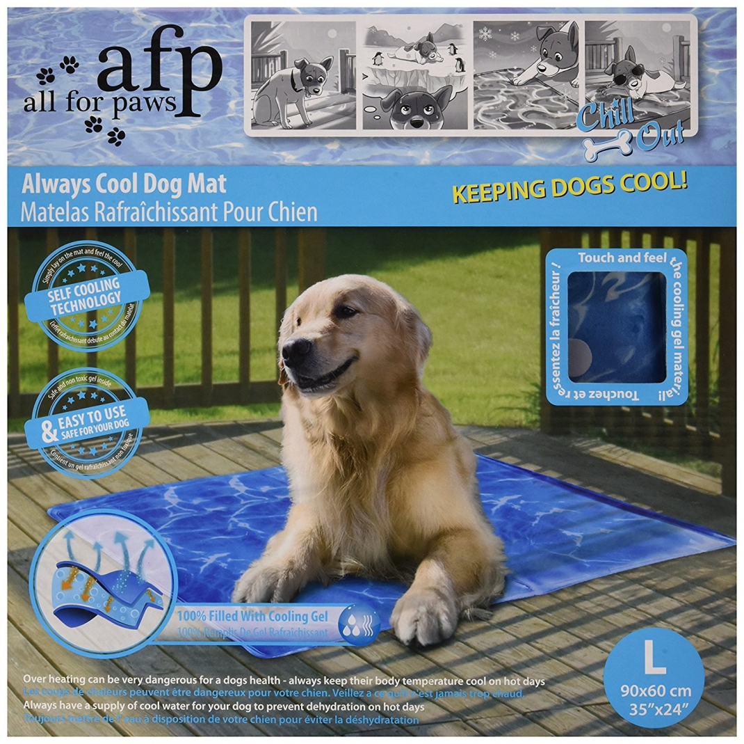 Chill Out Always Cool Dog Mat L  af All for Paws køb rimeligt og favoribelt med rabat