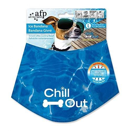 All for Paws Chill Out Ice Bandana  L