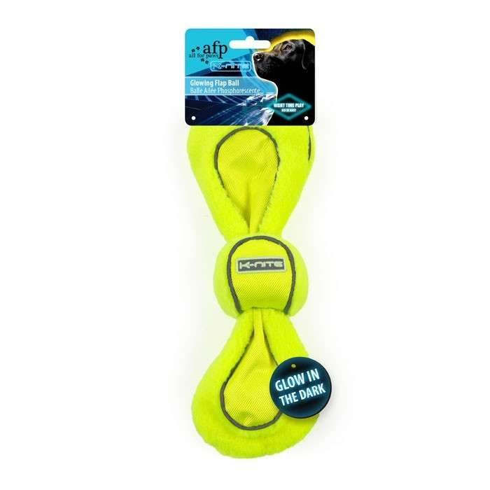 All for Paws K-Nite Glowing Flap Ball 847922033217 kokemuksia
