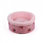 Shabby Chic Round Bed Pink Rosado