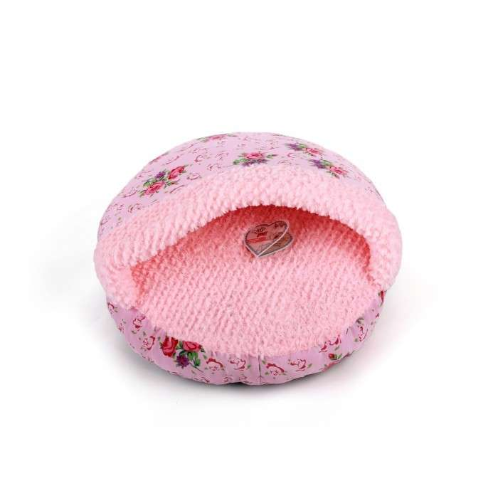 All for Paws Shabby Chic Hideaway Bed Pink Hideway  Rosado
