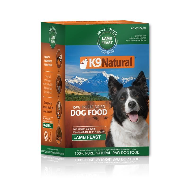 K9 Natural Lamb Feast 200 g, 500 g, 3.6 kg