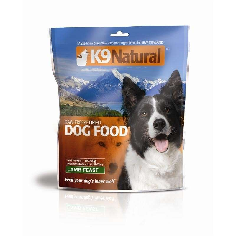 K9 Natural Lamb Feast 500 g order cheap