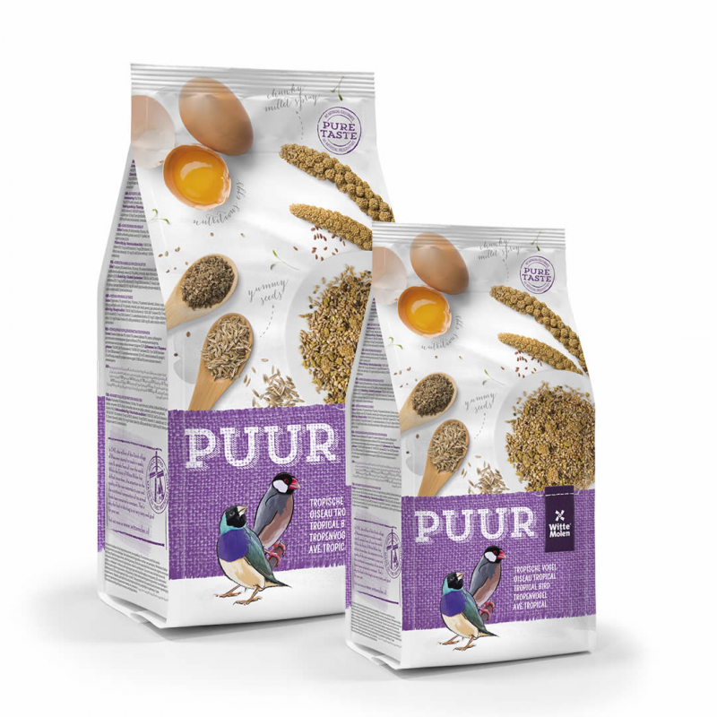 Puur Tropical Birds by Witte Molen 2 kg, 750 g buy online
