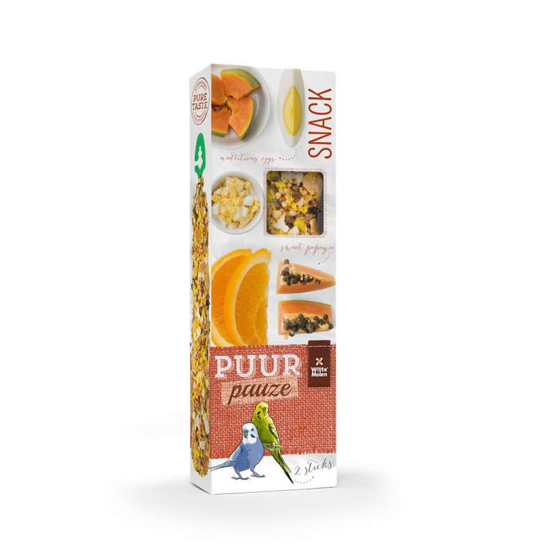 Witte Molen Puur Pauze Seed Sticks Budgie EAN: 8711304674010 reviews
