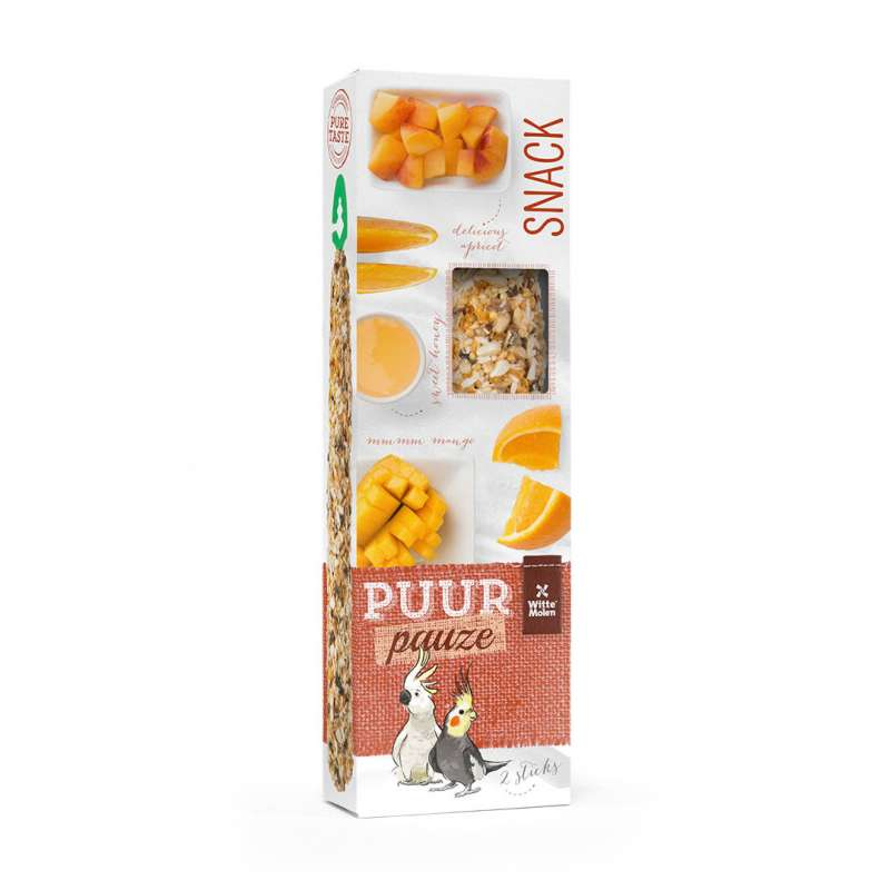 Witte Molen Puur Pauze Seed Sticks Large Parakeet & Cockatoo EAN: 8711304674218 reviews