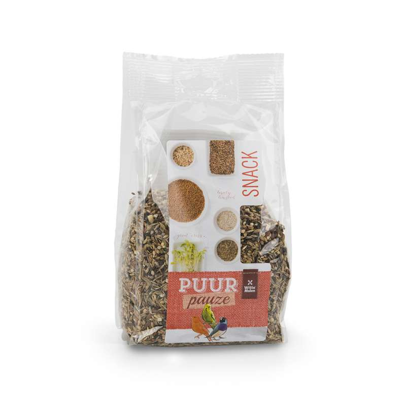 Witte Molen Puur Pauze Snack Mix Wild Seeds EAN: 8711304674416 reviews