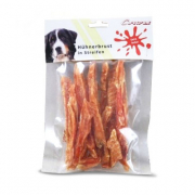 Corwex Chicken Fillet stripes - Jerky & dried poultry for dogs