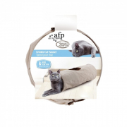 All for PawsClassic Comfort Crinkle Cat Tunnel Beige Cat toys