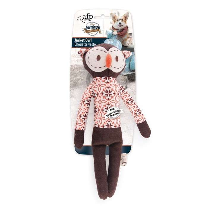 All for Paws Vintage Pet Jacket Owl  Jacket Owl