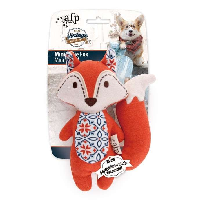 All for Paws Vintage Pet Mini Cutie Fox