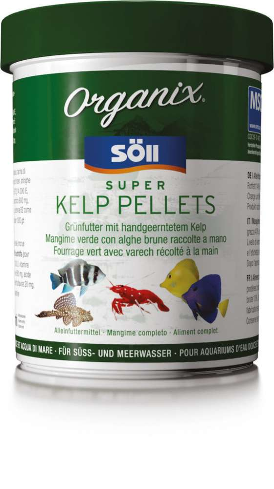 Söll Organix - MSC Super Kelp Pellets 490 ml, 270 ml