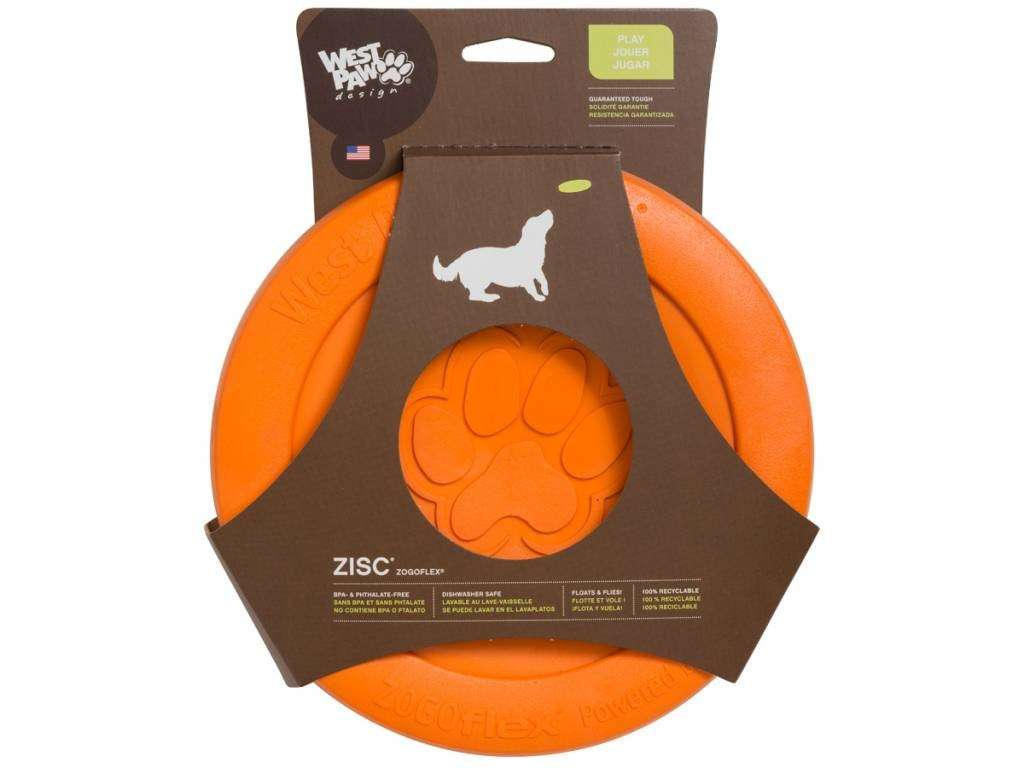 West Paw Zisc Flying Disc EAN: 0747473621362 reviews