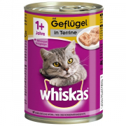 Poultry Terrine 1+, Can 400 g fra Whiskas