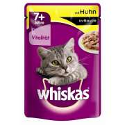 Whiskas 7+ mit Huhn in Sauce 100 g Art.-Nr.: 12492