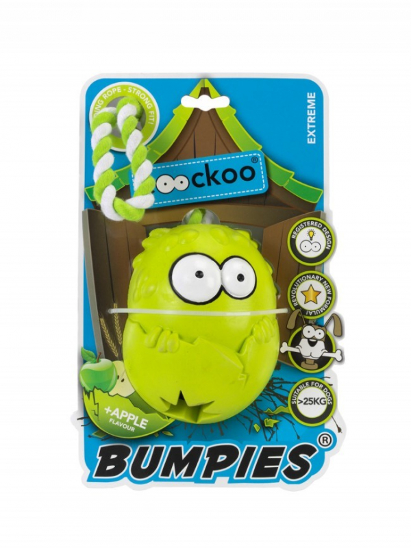 EBI Coockoo Bumpies Extreme Apple con Cuerda  Lima 130x102x88 mm