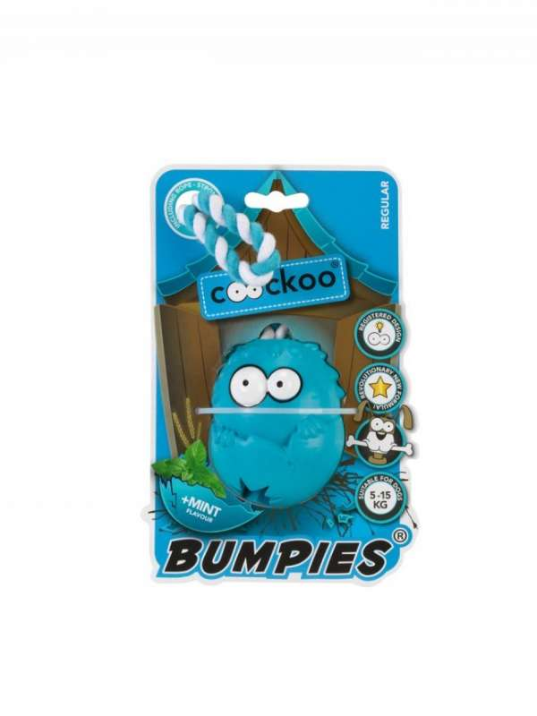 EBI Coockoo Bumpies Regular Mint con Cuerda 70x56x48 mm