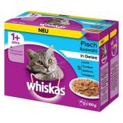 Whiskas Fish Selection in Jelly 1+ Art.-Nr.: 15184
