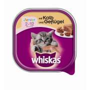 Whiskas Junior Terrine with Veal and Poultry 100 g