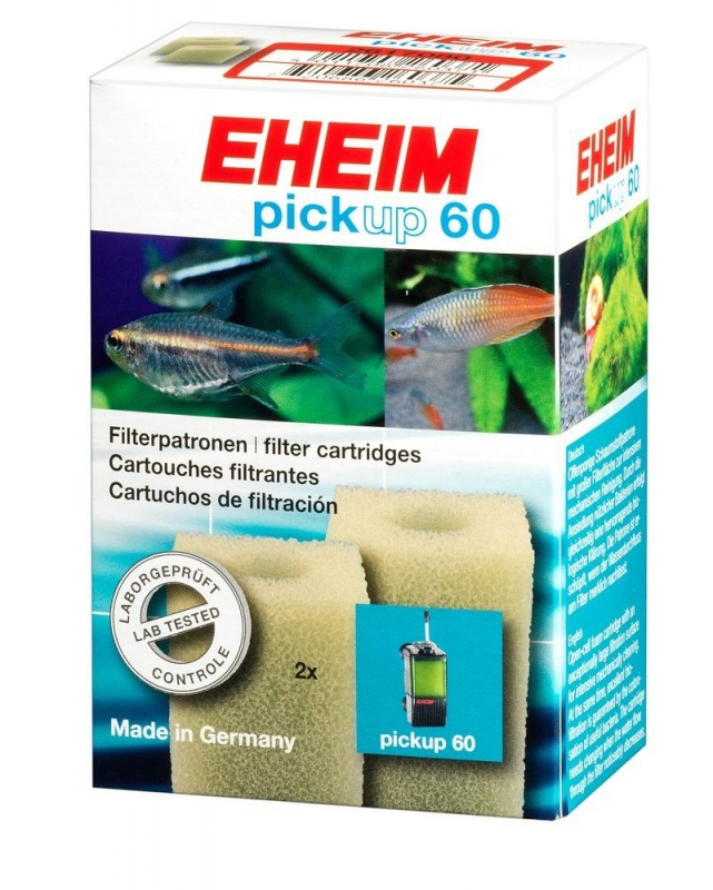 Eheim Filter cartridges for internal filter 60 (2 pieces)  60