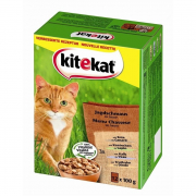 Kitekat Pouches 12 Multipack Hunting Feast in Sauce 12x100 g