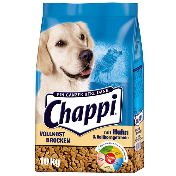 Chappi Wholegrain chunks with Chicken, Vegetables and Cereals 10 kg 4008429057762 ervaringen