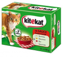 Kitekat Colorful meat & fish variety in sauce - Multipack 12x100 g