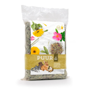 Puur Meadow Hay Flowers 500 g for smådyr