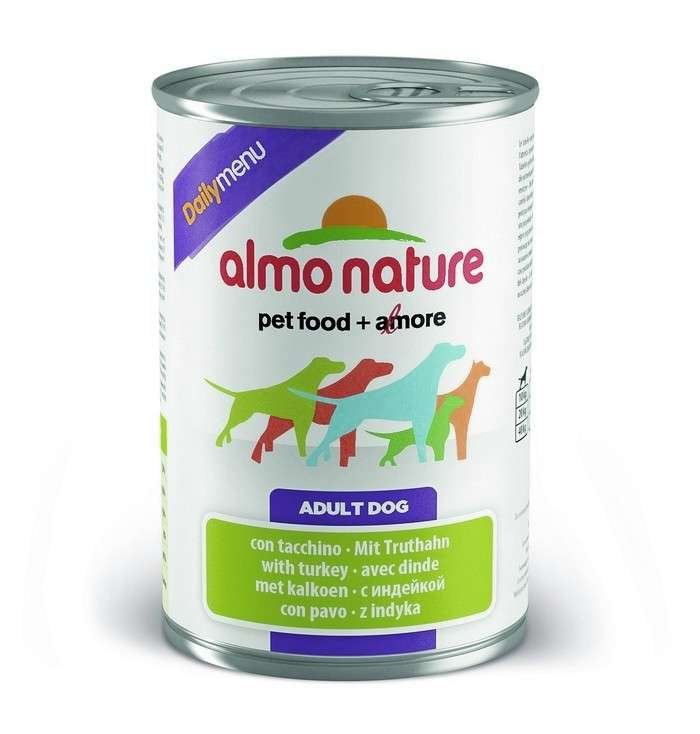 Almo Nature DailyMenu Adult Dog Kalkoen 400 g 8001154123807