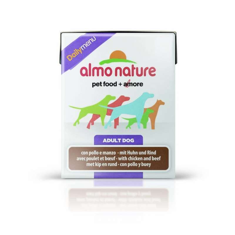 Almo Nature DailyMenu Adult Dog  Kip & Rund 375 g