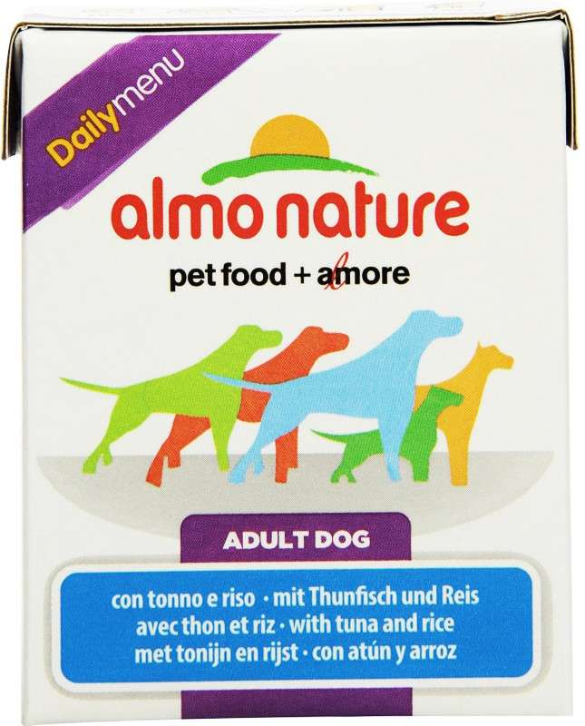 Almo Nature DailyMenu Adult Dog Tonijn & Rijst 375 g