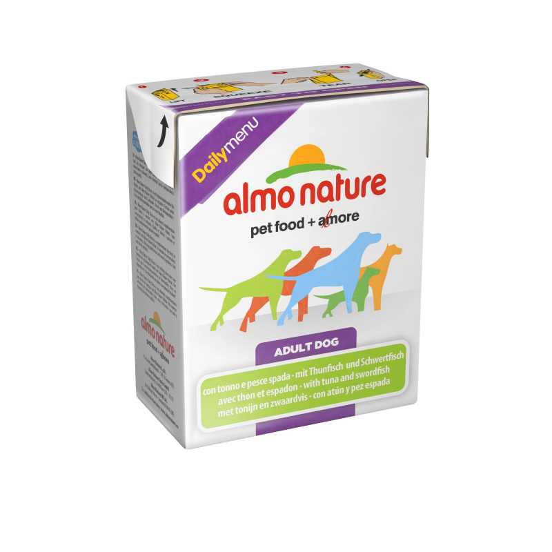 Almo Nature DailyMenu Adult Dog Tonijn & Zwaardvis 375 g