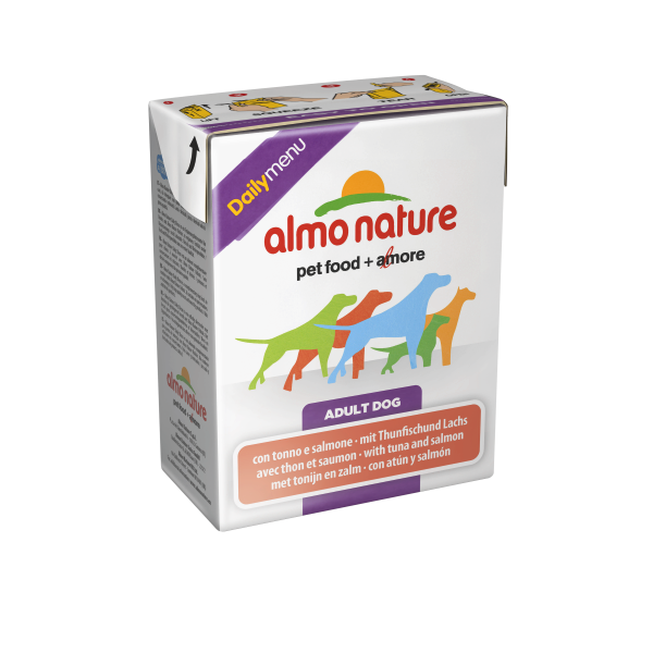 Almo Nature DailyMenu Adult Dog Tonijn & Zalm 375 g