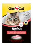 GimCat Topinis with Cottage Cheese, Taurine and Vitamins 220 g