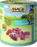 MAC's Dog - Lamb & Poultry Hearts 800 g