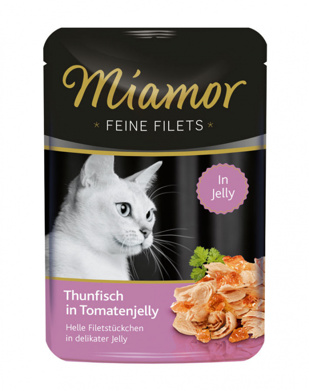 Miamor Feine Filets Thunfisch in Tomatenjelly 100 g Test