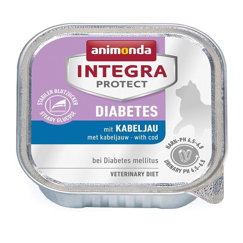 Animonda Integra Protect Diabetes Adult mit Kabeljau 100 g 4017721868419
