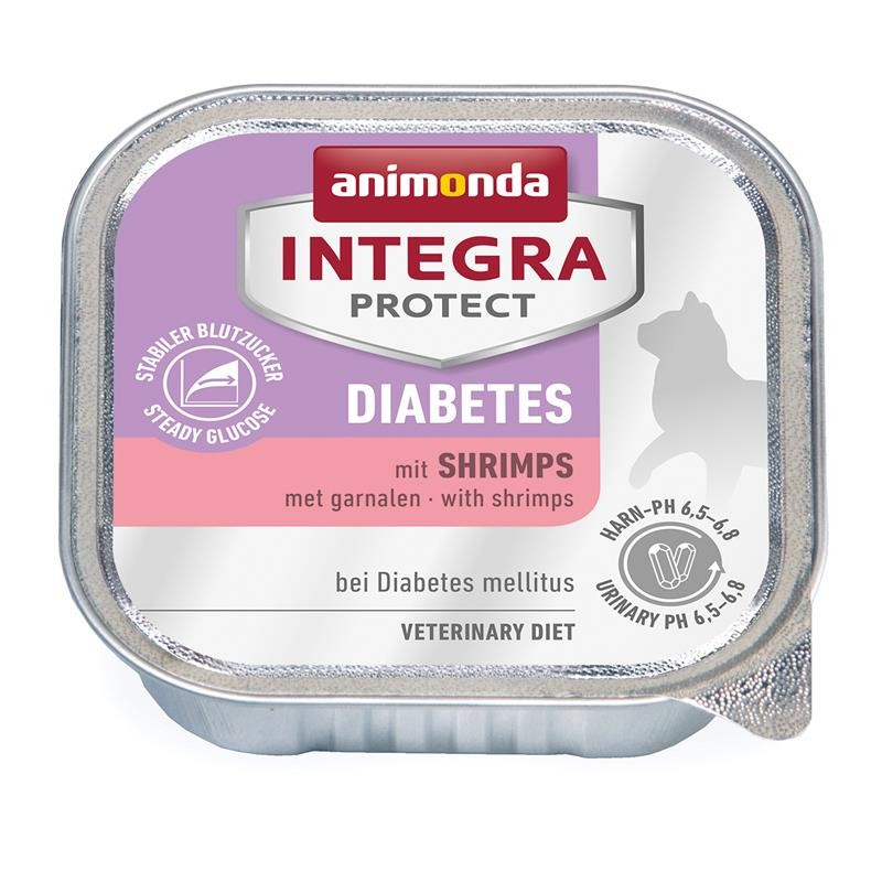 Animonda Integra Protect Diabetes Adult mit Shrimps 100 g 4017721868419