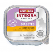 Animonda Integra Protect Diabetes Adult with Duck Hearts 100 g