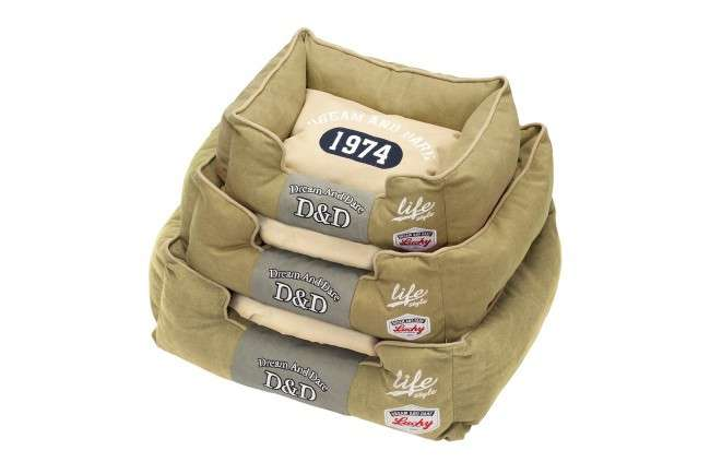 EBI D&D Lifestyle Sofabed Life 74 S olive  Olive 45x35x21 cm