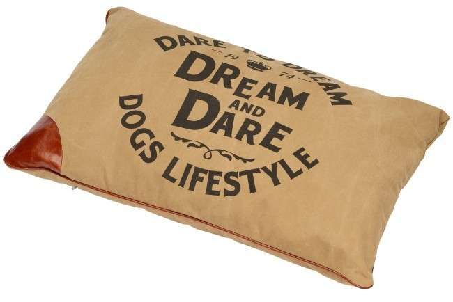 Europet-Bernina D&D Lifestyle Petbed Dream S raw-sienna  Hellbraun 80x60x11 cm